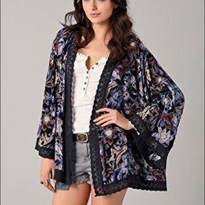 Free People Snap Out Of It Kimono Robe